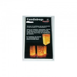 Candlebags groot 5st ass. decors